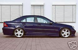 Mercedes Genuine Rieger W203 Infiinity Side Skirts