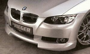 Bmw Genuine Rieger E92 E93 Front Spoiler Lip Primed