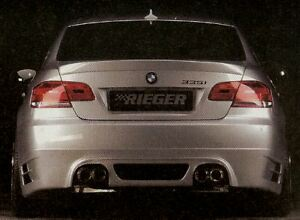 Bmw Genuine Rieger E92 E93 335i Rear Apron Spoiler