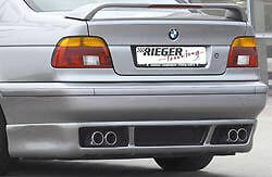 Bmw Genuine Rieger Brand E39 1997 2003 5 Series Sedan Gtm Rear Spoiler