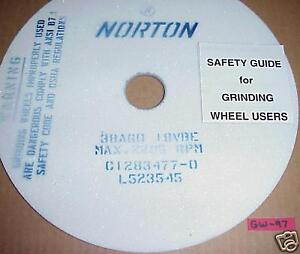11 Norton Surface Grinder Wheels 10 X 125 X 1 1 4