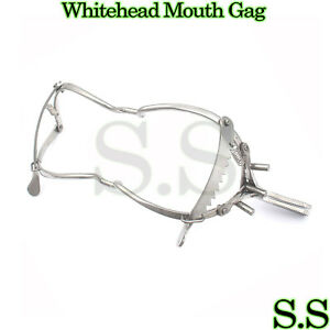 10 Whitehead Gag Surgical Dental Anesthesia Instruments