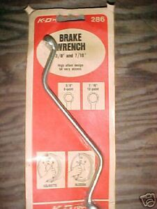 Brake Wrench 3 8 And 7 16 286