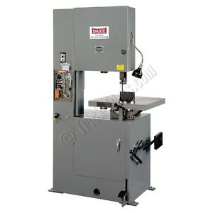 Dake Trademaster Vertical Band Saw Bandsaw 1 5 Hp