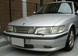 Chrome Mesh Grille Grill For Saab 900 93 94 95 96 97 98 99 1999 1998 1997 1996
