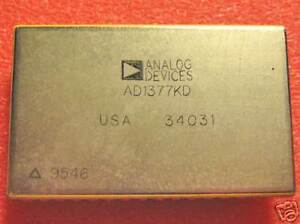 Ad1377kd Analog Devices 16 Bit A d Converter 1 Each