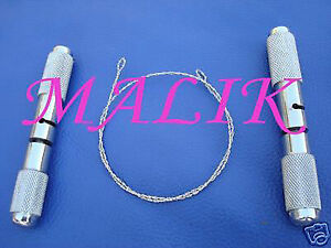 Embryotome Wire Handles Veterinary Surgical Instruments
