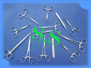 Lot 65 Surgical Instruments Scissors Forceps Retractors
