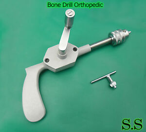 10 New Bone Drill Surgical Medical Orthopedic Instruments