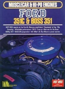 Musclecar Hi Po Engines Ford 351c Boss 351