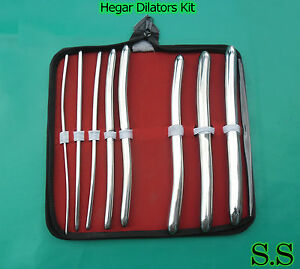 20 Hegar Uterine Dilators Surgical Medical Instruments