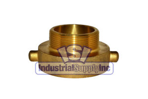 Fire Hydrant Adapter 2 1 2 Female Nst X 3 Male Npt Brass