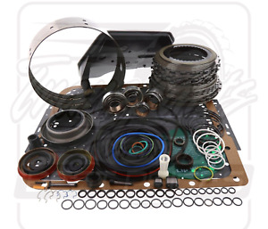 4l60e Transmission Deluxe Overhaul Rebuild Kit 1993 1996 Gm Chevy Chevrolet