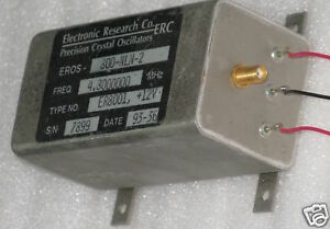 High 4 8mhz Frequency Reference Standard Oscillator Sma