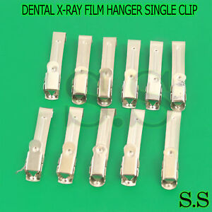 Single Dental X ray Film Hanger dental Supply 100 Pcs