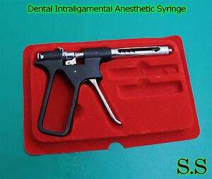 1 Dental Intraligamental Anesthetic Syringe Dental Gun