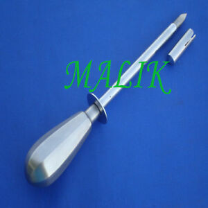 Trocar Canula Metal Handle Veterinary Instruments
