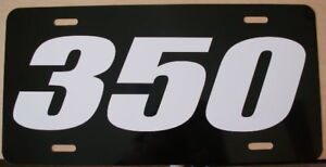 350 Engine Size License Plate Fits Chevy Buick Pontiac