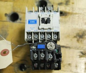 Mitsubishi Motor Starter With Th n12 Overload Relay 7 11amps 100vac Coil