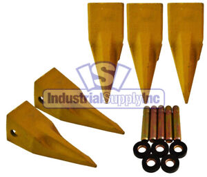 5 pk T1u3252l Cat Single Tiger Style Bucket Digging Teeth