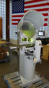 Jones And Lamson Pc 14a Optical Comparator Refurbished With 2 Lenses And Dro
