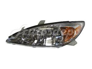 For 2002 2004 Camry Le Xle Headlight Headlamp Combination Assy Lh