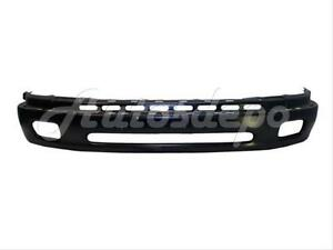 For 2000 2006 Tundra Front Bumper Lower Cover Face Bar Black w o Flare Hole