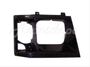 For 1985 1994 Chevy Astro Gmc Safari Headlight Door Bezel Black Rh