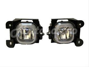 For 2004 2005 Ford Ranger Xl Xlt Fog Lamp Light W Bulb Set