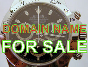 Domain Name For Sale Www Used Watches com