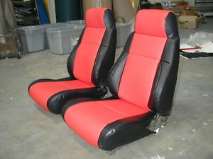 Pontiac Fiero 1984 1989 Leather Like Custom Seat Cover
