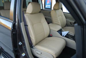 Honda Pilot 2003 2018 Leather like Custom Seat Cover