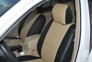 Mitsubishi Outlander 2003 2006 Leather Like Seat Cover
