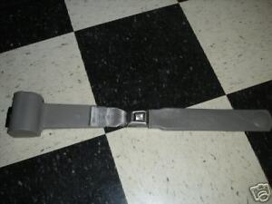 Retractable Seat Belts Light Grey