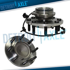 2003 2004 2005 Dodge Ram 2500 3500 Front Wheel Bearing And Hub Pair W Abs 2wd