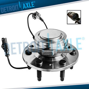 Front Wheel Bearing Hub For 07 13 Chevy Silverado Gmc Sierra Escalade 1500 2wd