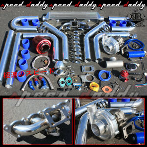 Mitsubishi Mirage 1 8 4g93 T04e Jdm Turbo Charger Manifold Intercooler Full Kit