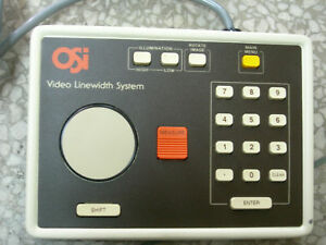 Osi Video Linewidth Measuring System Controller