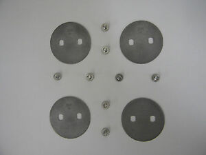 Holley 1009 354 1 11 16 Stainless Throttle Plate 354