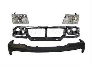 For 06 09 Ford Ranger Front Bumper Header Panel Headlight 4