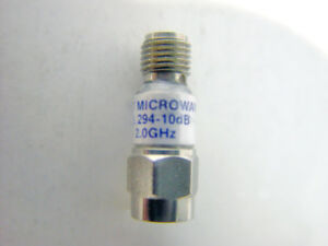 Midwest Microwave 294 10db Attenuator Dc 2 0 Ghz