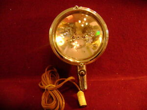 Vintage 1950 S Ford Electroline Spotlight Model 82 With Cord And Plug