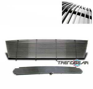 1998 1999 2000 Ford Ranger 2wd 4wd Upper Bumper Lower Billet Grille Combo 2pcs
