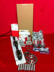 Pontiac 421 Master Deluxe Engine Kit 1963 64 65 66 Pistons Rings Gaskets Valves