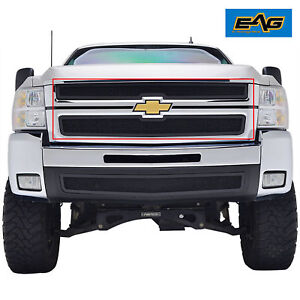 07 10 Chevy Silverado 2500 3500 Hd Grille Insert Stainless Steel