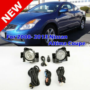 Direct Replacement Fog Light Kit For Nissan Altima Coupe 2008 2013 With Harness