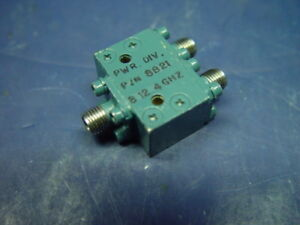 Norsal Sma Coaxial Rf Power Divider 8821