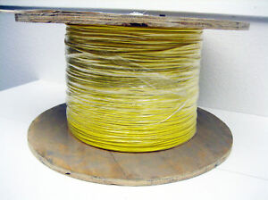 Yellow 22 Awg Hookup Wire Ul1015 4000 Rohs
