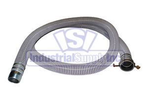 1 1 2 X 20 Very Flexible Water Suction Hose Fcam X Mp