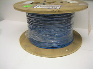 Blue black 22 Awg Hookup Wire Ul1015 5000 Rohs Comp